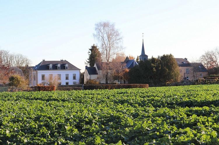 Centre du village de Guirsch classé