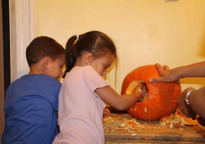 Spécial Halloween : Visite guidée de Brooklyn avec atelier de décoration de citrouille - En français