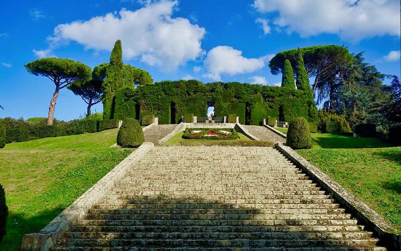 Apostolic Palace of Castel Gandolfo & Pontifical Villas Gardens