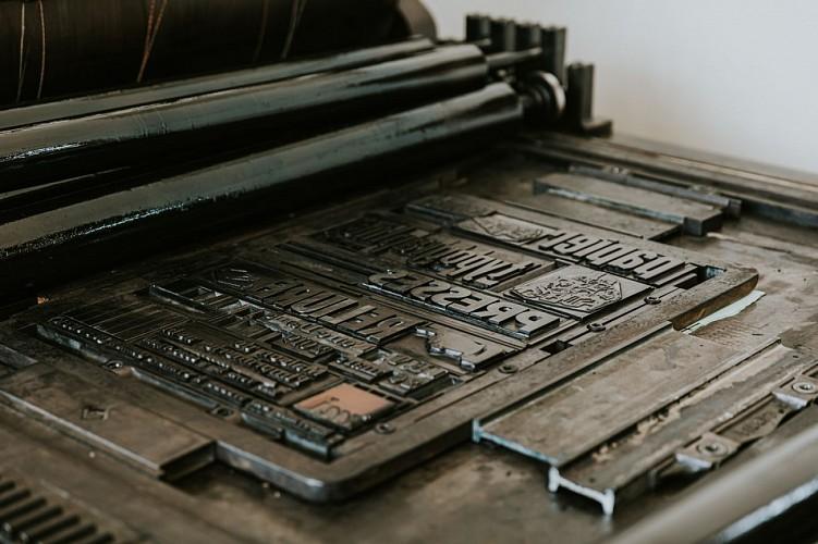 Maison de l'imprimerie à Thuin