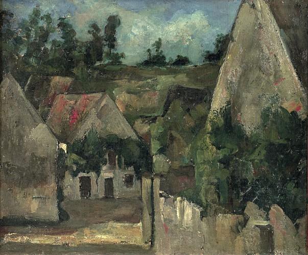 Paul Cézanne - Le carrefour de la rue Rémy