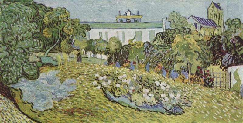 Vincent Van Gogh - Le jardin de Daubigny