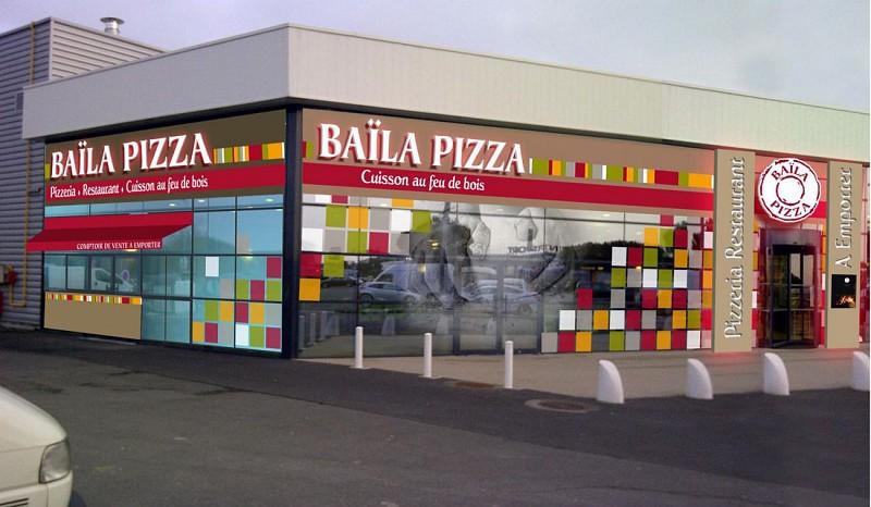 "Restaurant ""Baila pizza"" à Niort"
