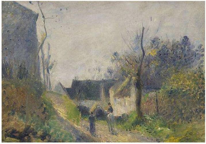 Pissarro - Paysage au Valhermeil