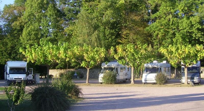 Aire de camping car St Jean de Côle