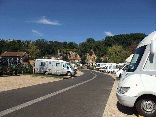 aire camping-car Périgueux