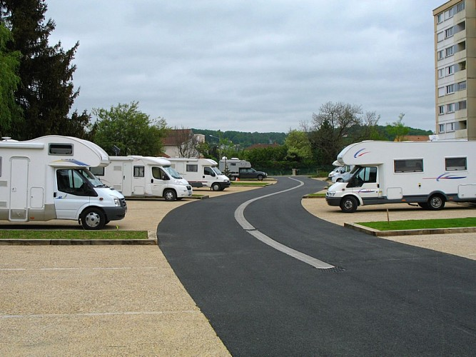 aire camping-car Périgueux parking