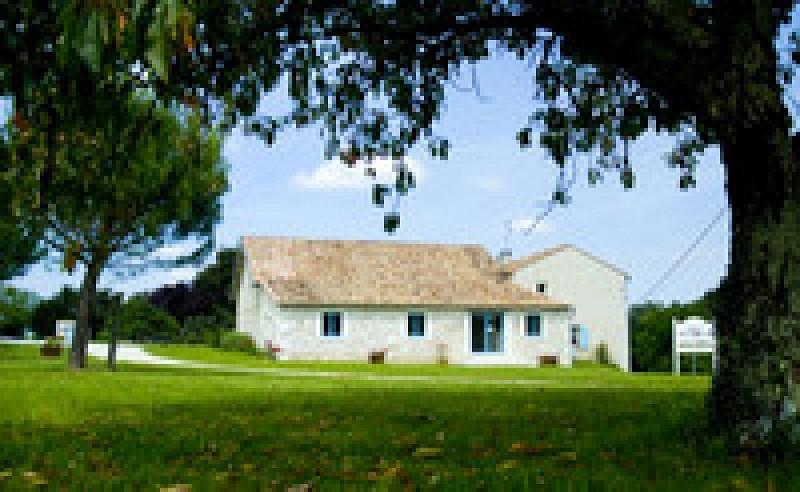 Chateau Grand Montet - vue de la maison