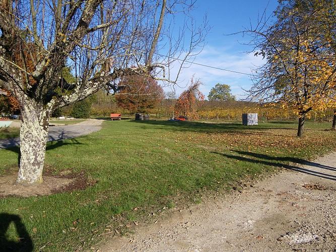aire camping-car château du Tastet 4
