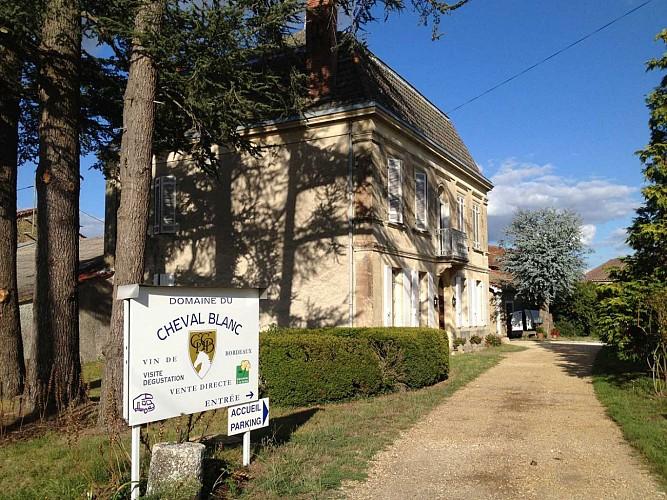 Domaine de Cheval Blanc - SAINT-GERMAIN-DE-GRAVE - Sud-Gironde