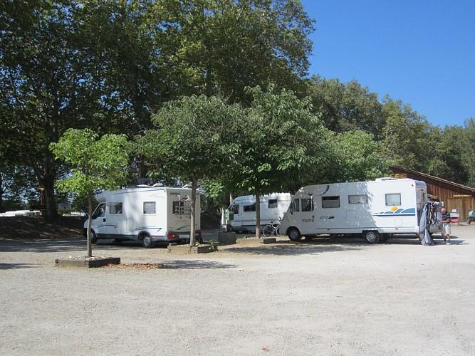 Aire de camping car de Villeton