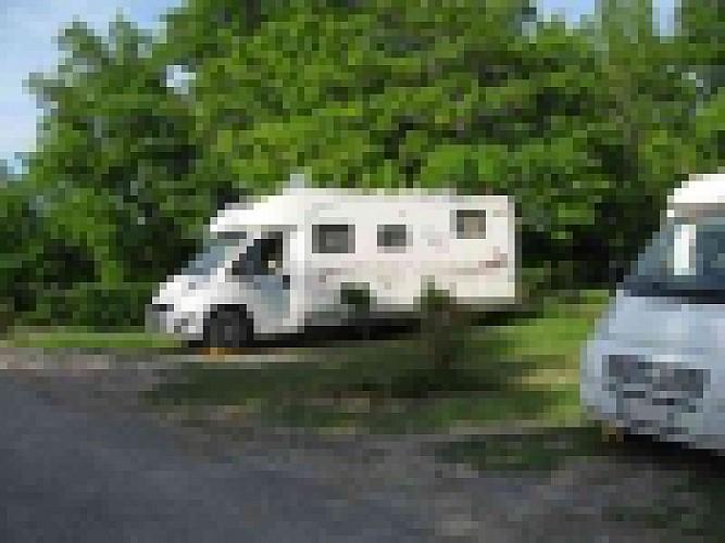 Aire camping car Duras
