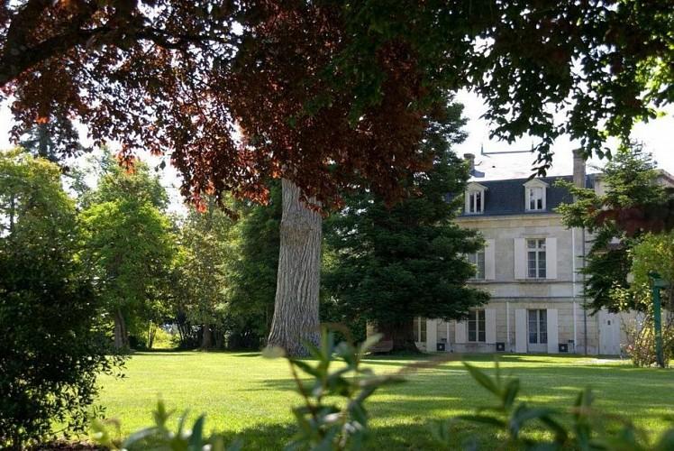 Relais de Margaux _le parc