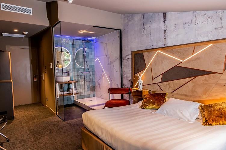 Destination Garonne, Hôtel du Château de la Tour, Cadillac, Beguey, la piscine