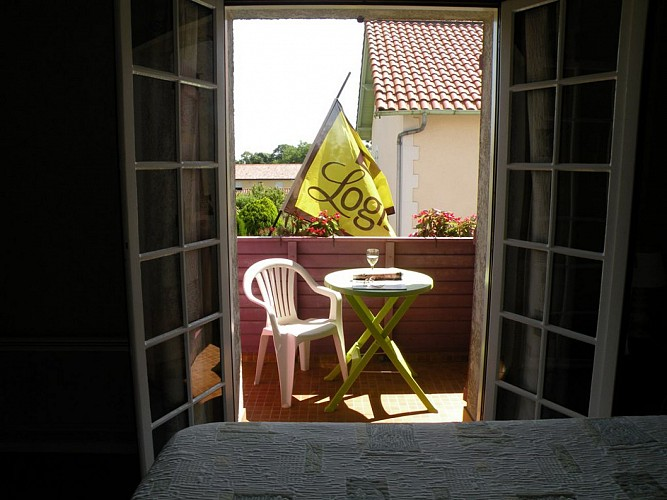 L'Auberge - chambre avec terrasse QC