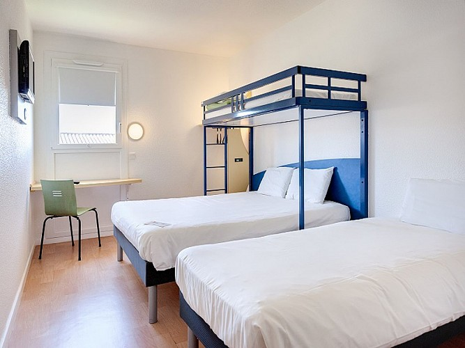 Chambre 2-Hôtel Ibis Budget Destination Agen