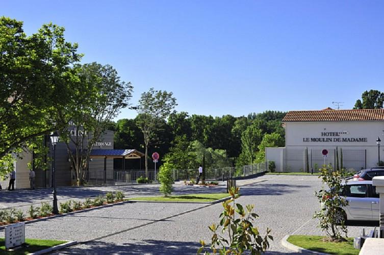 Villeneuve-sur-Lot - Le Moulin de Madame - accueil 1