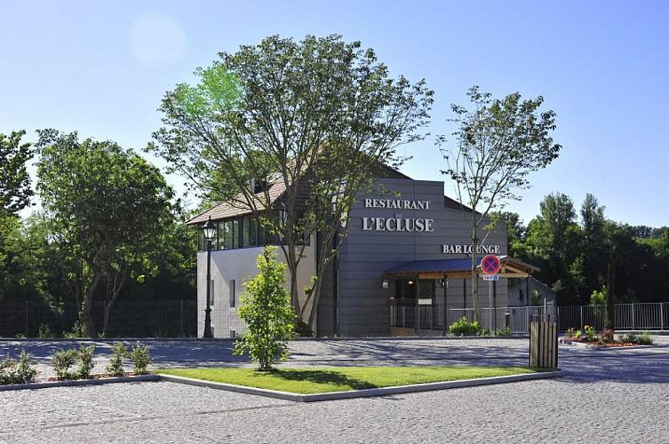 Villeneuve-sur-Lot - Le Moulin de Madame - façade Ecluse