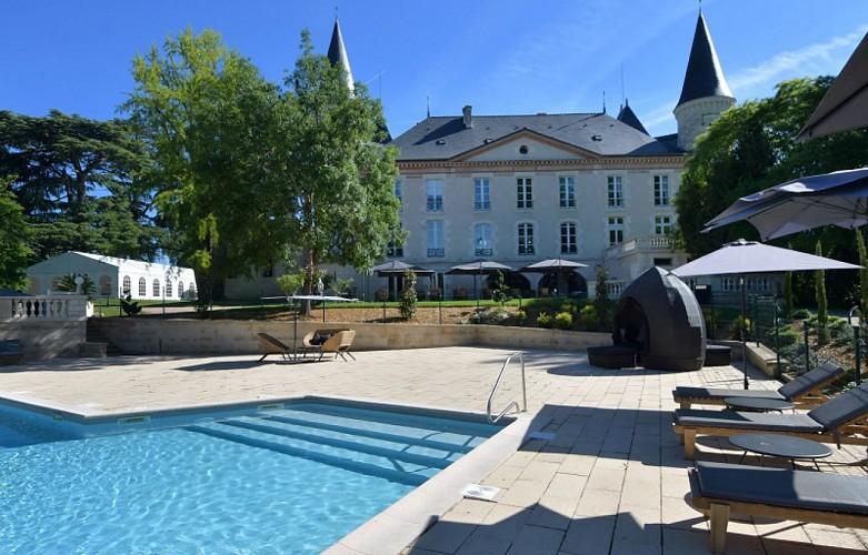 Château Saint-Marcel piscine