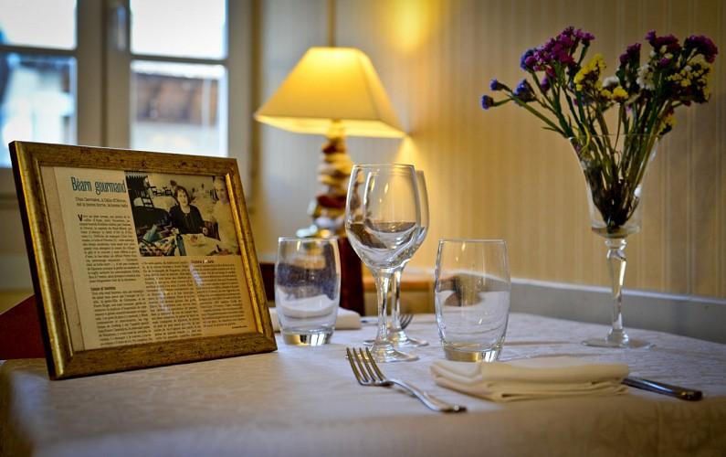 Chez Germaine - Salle de restaurant (Christelle Laney)