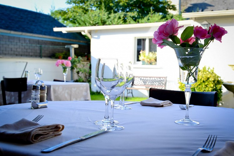 Chez Germaine - Terrasse restaurant (Christelle Laney)