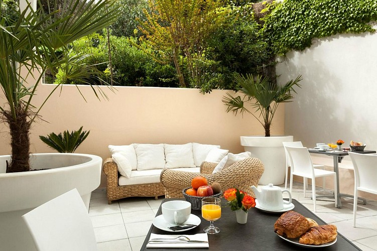 Gamaritz terrasse