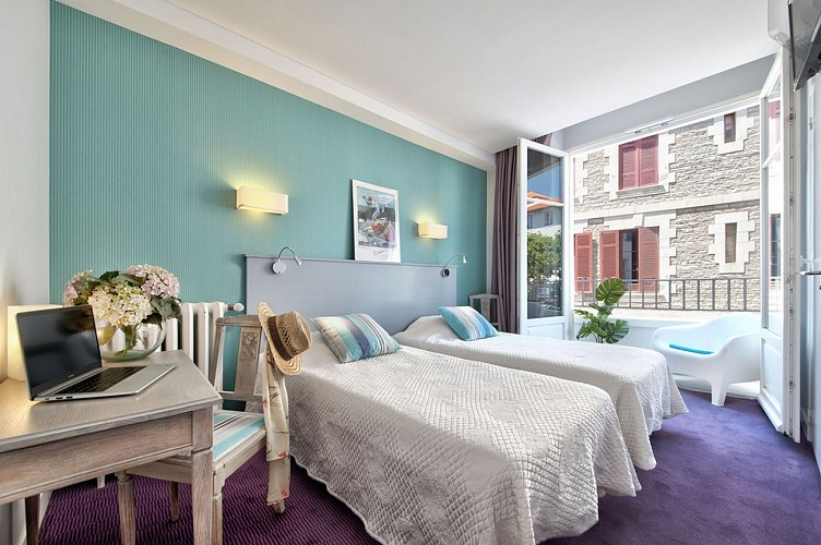 Saphir Biarritz chambre2