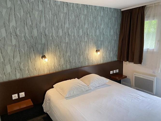 Hôtel A l'hôtel - Pau - Chambre double coussin