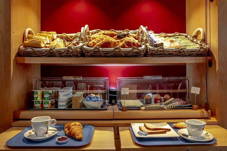 Hôtel A l'hôtel - Pau - Salle petit déjeuner