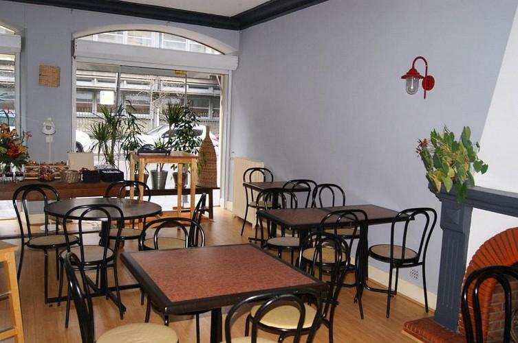Hôtel Central - Pau - Salle petit déjeuner