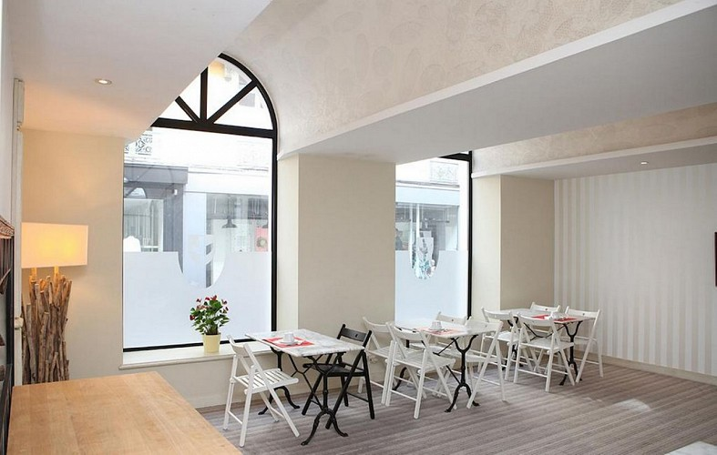 Hôtel Roncevaux - Pau - Salle petit déjeuner
