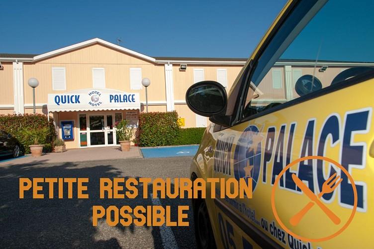PETITE RESTAURATION POSSIBLE