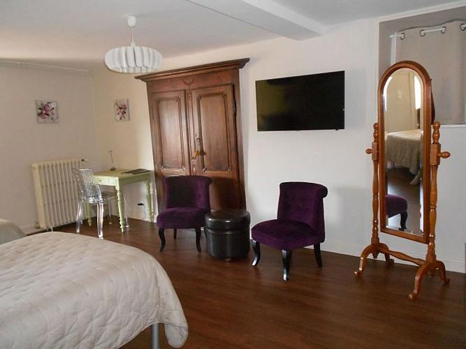 Hôtel Itzalpea - chambre Mendia - Saint Jean Pied de Port