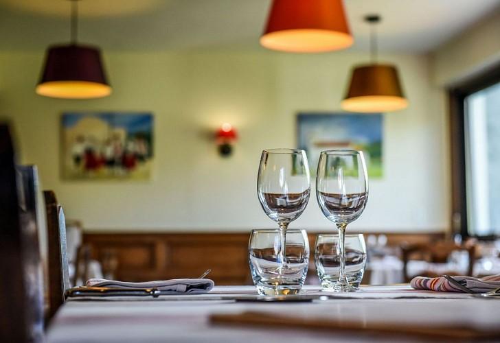Hôtel restaurant Xoko Goxoa - salle de restaurant - Saint Michel