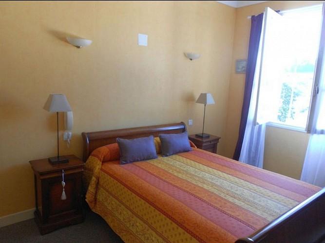 Hôtel Camou - chambre - Uhart-Cize