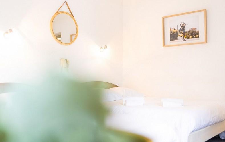 Hôtel & Bistrot Fine - chambre-double