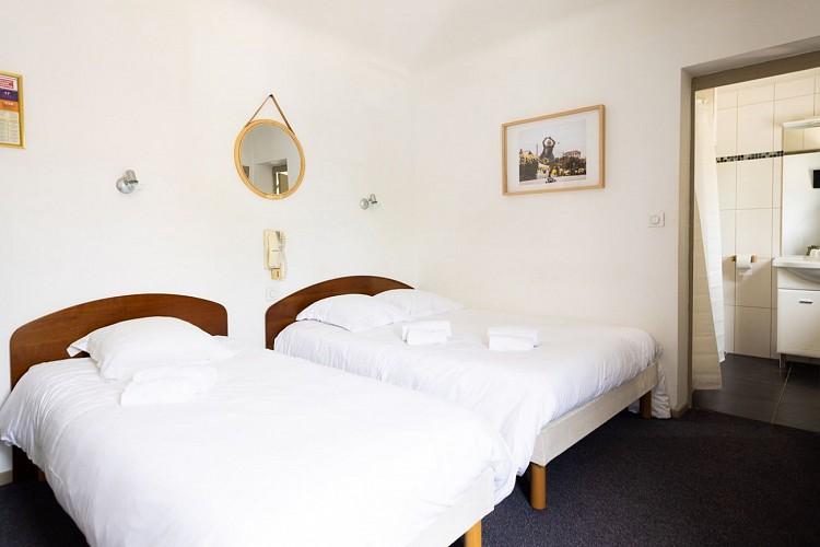 Hôtel & Bistrot Fine - oreiller-serviette