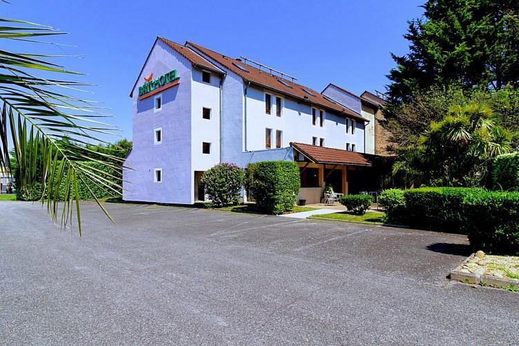 Brit Hôtel - Lons - chambre double petits lits