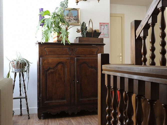 Hôtel Noblia - escalier - Bidarray