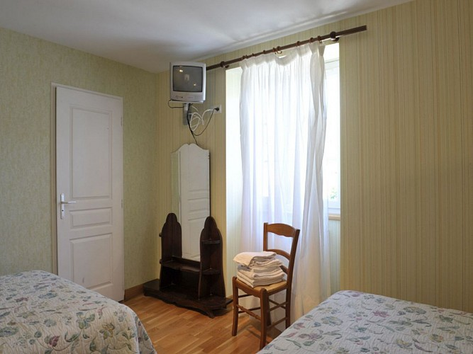 Hôtel Noblia - chambre familiale - Bidarray