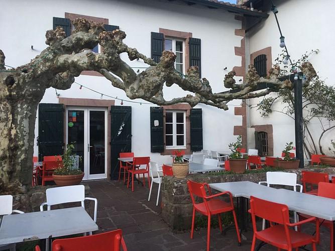 Hôtel Barberaenea - terrasse - Bidarray
