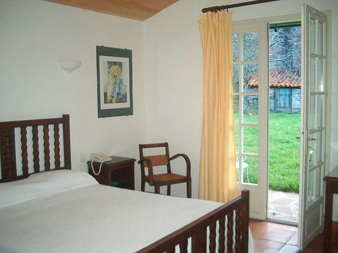 Hôtel Barberaenea -  chambre sur jardin -  Bidarray