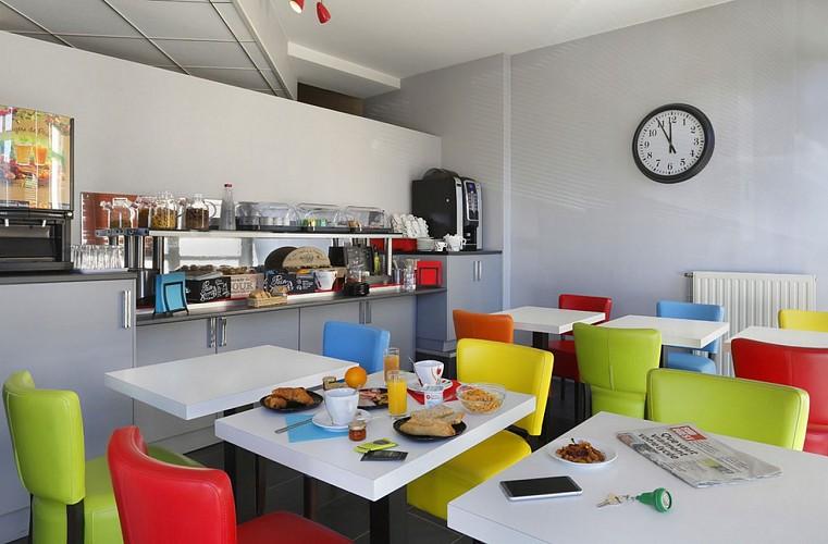Atlantic Hôtel - Pau - Salle petit déjeuner