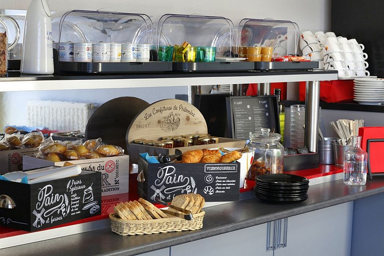 Atlantic Hôtel - Pau - Petit déjeuner