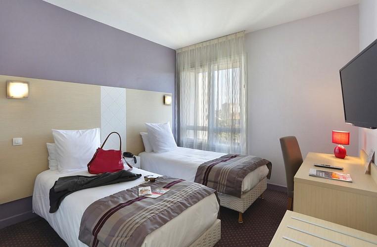 Atlantic Hôtel - Pau - Chambre double sac