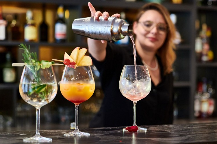 Cocktail Bar Hôtel GEORGES VI Biarritz