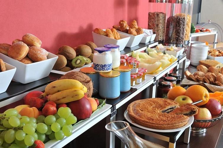 Hôtel Eden Park - Bizanos - Petit déjeuner