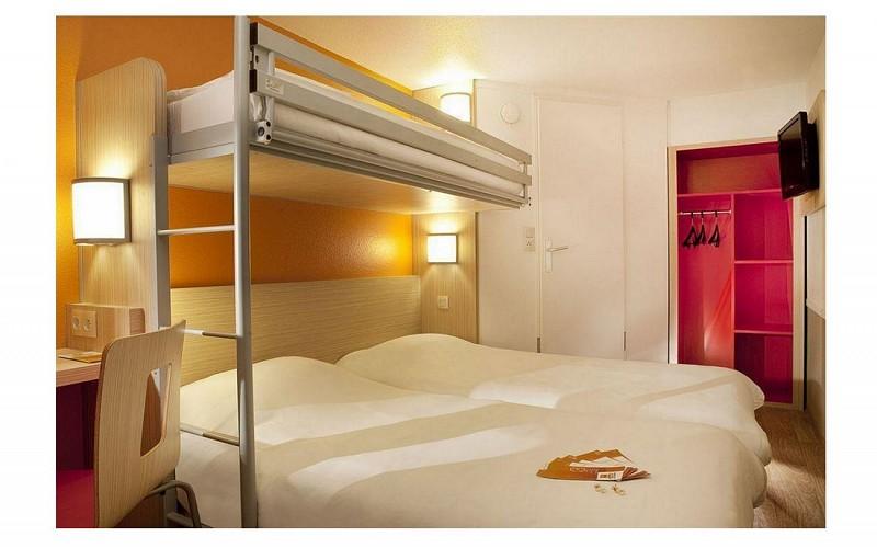 Hôtel Première Classe Pau Bizanos - Chambre triple