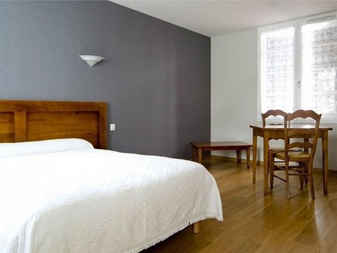 Auberge Etxoinia - chambre grise - Lasse