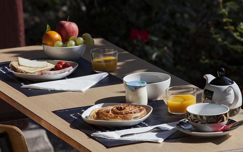 Salle de petit déjeuner
